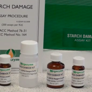 Megazyme Starch Damage Assay Kit