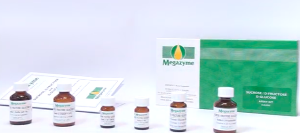 Megazyme Sucrose/D-Fructose/D-Glucose Assay Kit