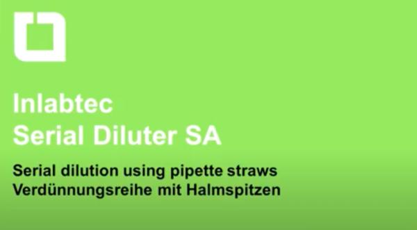 Inlabtec Serial Diluter SA video