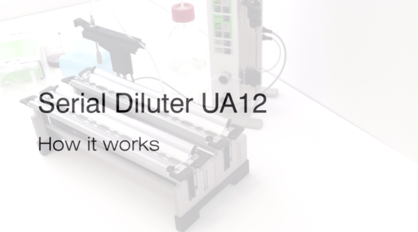 Inlabtec Serial Diluter UA12 complete video